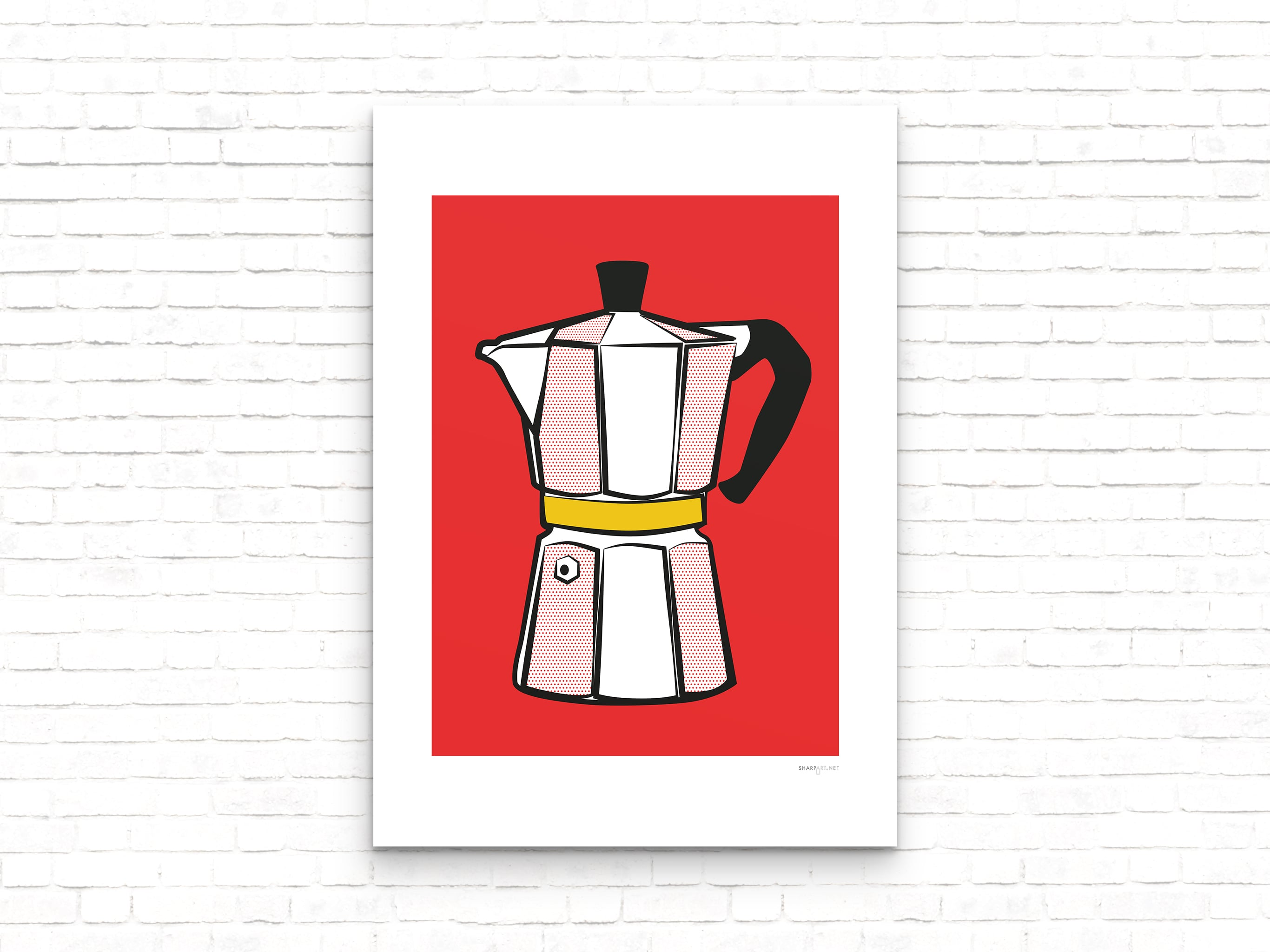 Cafetiere Print